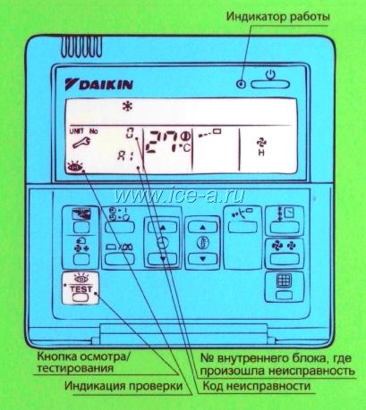 Daikin vrv 3 инструкция по запуску